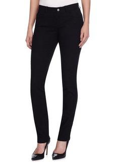 Lafayette 148 New York Snake-Embossed Slim-Fit Jeans
