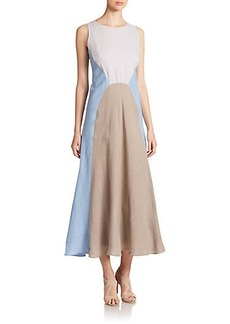 Lafayette 148 New York Solange Linen Dress