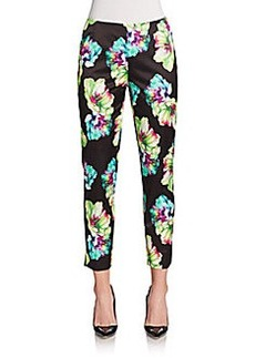 Lafayette 148 New York Stanton Floral-Print Pants