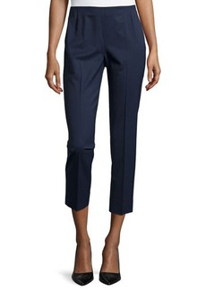 Lafayette 148 New York Stanton Slim-Fit Cropped Pants