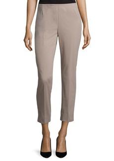 Lafayette 148 New York Stanton Slim-Leg Cropped Pants