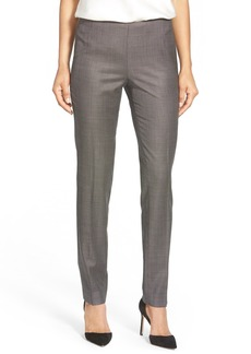 Lafayette 148 New York 'Stanton' Slim Leg Suit Pants