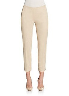 Lafayette 148 New York Stanton Stretch-Cotton Cropped Pants