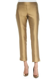 Lafayette 148 New York Stanton Stretch Cropped Pants