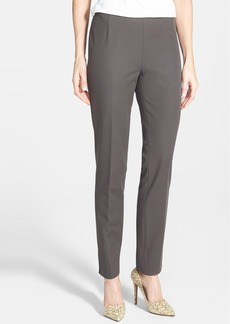 Lafayette 148 New York 'Stanton' Tech Stretch Gabardine Ankle Pants