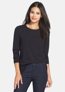 Lafayette 148 New York Stretch Cotton Tee
