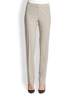 Lafayette 148 New York Stretch Wool Crosby Pants