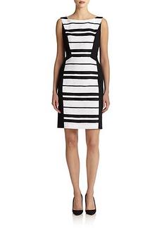 Lafayette 148 New York Striped Kimberly Dress