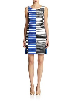 Lafayette 148 New York Striped Shift Dress