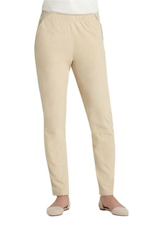 LAFAYETTE 148 NEW YORK Suede Track Pants