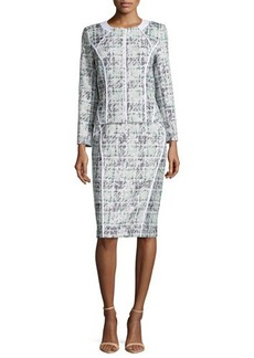 Lafayette 148 New York Sylvana Tweed Pencil Skirt