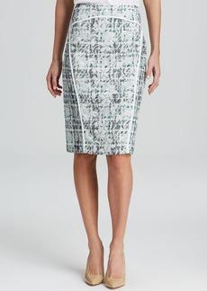 Lafayette 148 New York Sylvana Tweed Pencil Skirt
