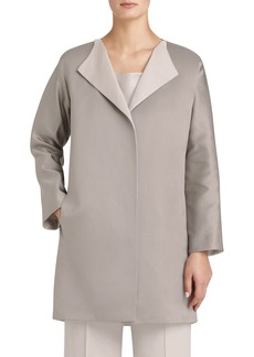 Lafayette 148 New York 'Tailynn' Double Cloth Topper