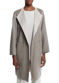 Lafayette 148 New York Tailynn Long Cashmere Topper Coat  Tailynn Long Cashmere Topper Coat