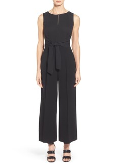 Lafayette 148 New York 'Takara' Sleek Techno Cloth Jumpsuit