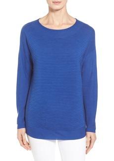 Lafayette 148 New York Texture Paneled Sweater