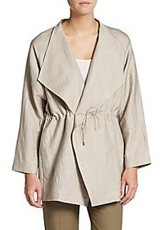 Lafayette 148 New York Textured Shawl Jacket