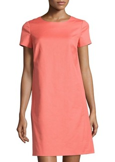 Lafayette 148 New York Textured Shift Dress