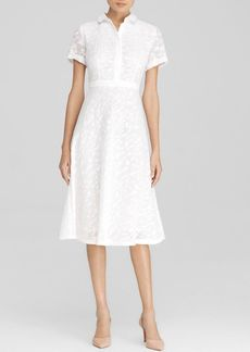 Lafayette 148 New York Theresa Midi Shirt Dress - Bloomingdale's Exclusive