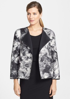 Lafayette 148 New York 'Tiana - Sketched Graphic' Print Topper