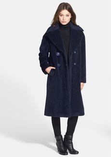 Lafayette 148 New York 'Tibby - Grandeur' Alpaca & Wool Coat