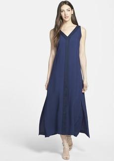 Lafayette 148 New York 'Tinsley' V-Neck Maxi Dress