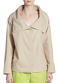 Lafayette 148 New York Topper Cotton Jacket