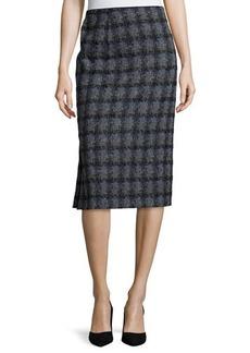 Lafayette 148 New York Tweed Pencil Skirt