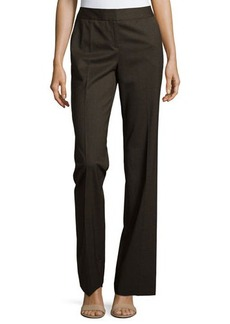 Lafayette 148 New York Twill Wide-Leg Pants