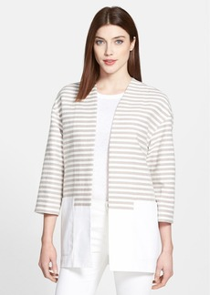 Lafayette 148 New York 'Ursala' Stripe Block Topper