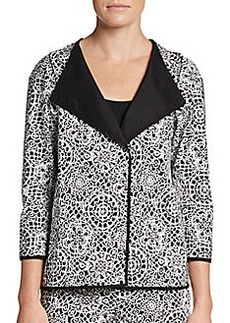 Lafayette 148 New York Venus Baroque Cotton Jacket