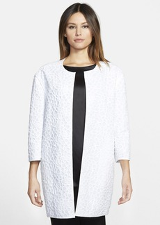 Lafayette 148 New York 'Vida' Webbed Lace Topper
