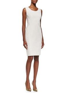 Lafayette 148 New York Vonnie Fundamental Side-Lace-Up Sheath Dress  Vonnie Fundamental Side-Lace-Up Sheath Dress