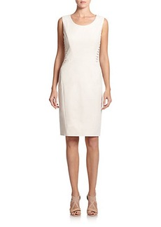 Lafayette 148 New York Vonnie Lace-Up Dress
