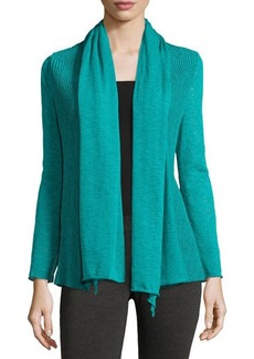 Lafayette 148 New York Wave-Textured Cardigan  Wave-Textured Cardigan