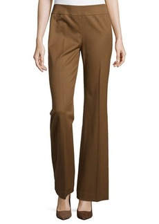 Lafayette 148 New York Waverly Wide-Leg Side-Zip Pants