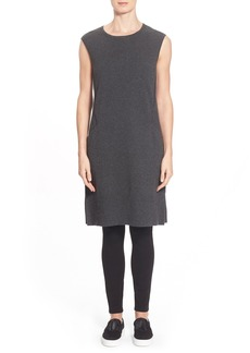 Lafayette 148 New York Wool A-Line Sweater Dress