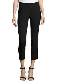 Lafayette 148 New York Wool-Blend Cropped Pants, Navy