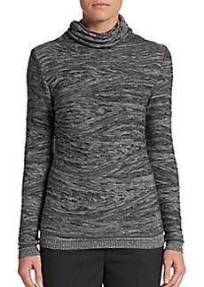 Lafayette 148 New York Wool-Blend Funnelneck Sweater
