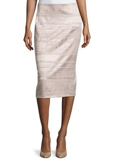 Lafayette 148 New York Wool-Blend Midi Pencil Skirt