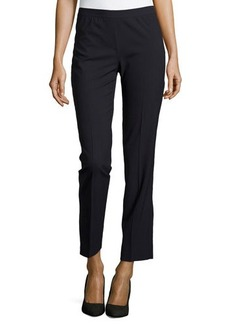 Lafayette 148 New York Wool-Blend Slim-Leg Pants
