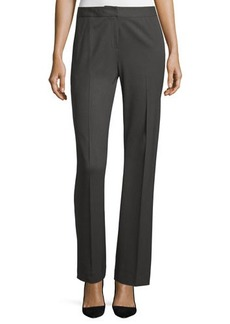Lafayette 148 New York Wool-Blend Straight-Leg Pants