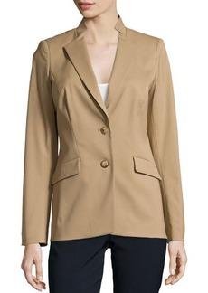 Lafayette 148 New York Wool-Blend Two-Button Jacket
