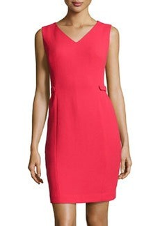 Lafayette 148 New York Wool Crepe Naya Dress, Spark