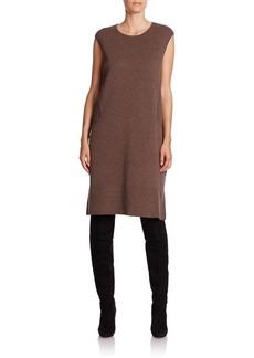 Lafayette 148 New York Wool Flannel Shift Dress