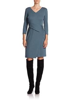 Lafayette 148 New York Wool Jersey Sheath Dress