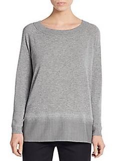 Lafayette 148 New York Wool Sweater