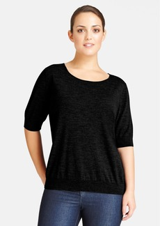 Lafayette 148 New York Wool Top (Plus Size)