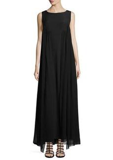 Lafayette 148 New York Yasmine Sleeveless Georgette Dress