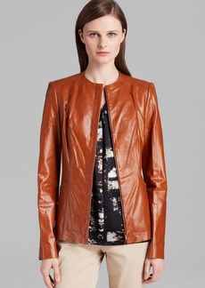 Lafayette 148 New York Yelena Leather Jacket